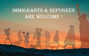 Immigrants and Refugees are Welcome at Saint John of God Church